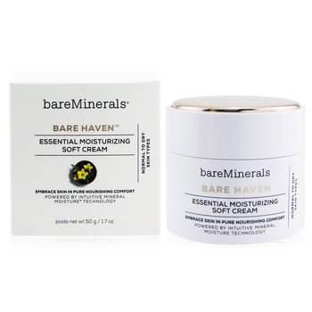 Bare Haven Essential Moisturizing Soft Cream - Normal To Dry Skin Types  50g/1.7oz