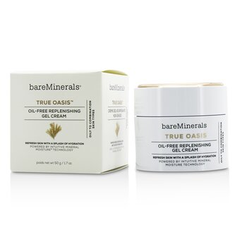 BareMinerals True Oasis Oil-Free Replenishing Gel Cream - Oily To Combination Types  50g/1.7oz