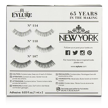 The New York Edit False Lashes Multipack  3pairs