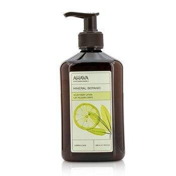 Mineral Botanic Velvet Body Lotion - Lemon & Sage  400ml/13.5oz