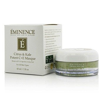 Eminence Citrus & Kale Potent C+E Masque - For All Skin Types  60ml/2oz
