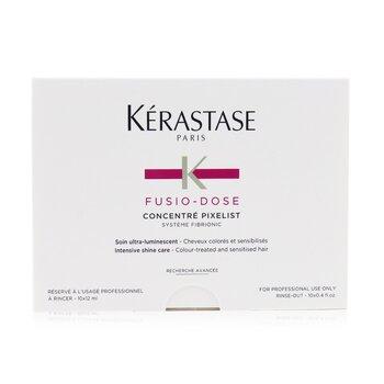 Fusio-Dose Concentre Pixelist Intensive Shine Care (Colour-Treated and Sensitised Hair)  10x12ml/0.4oz