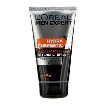 L'Oreal ทำความสะอาดผิว L'Oreal Men Expert Hydra Energetic Black Charcoal   150ml/5oz
