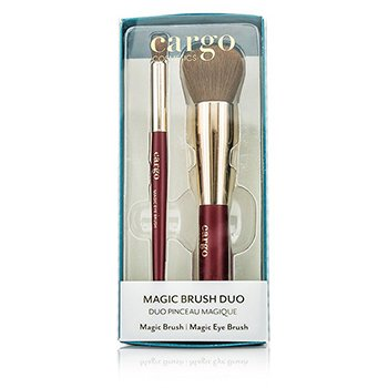 Cargo Magic Pensulă Duo: 1x Magic Pensulă, 1x Magic Pensulă pentru Ochi  2pcs