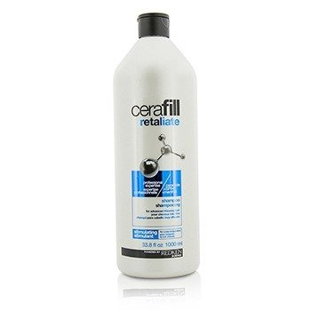 Cerafill Retaliate Stimulating Shampoo (For Advanced Thinning Hair)  1000ml/33.8oz