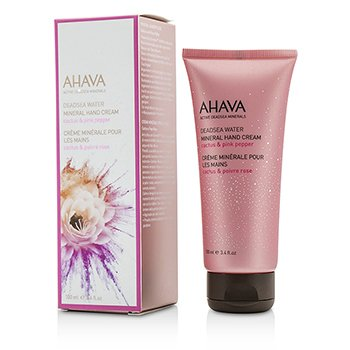Ahava Deadsea Water Crema de Manos Mineral - Cactus & Pink Pepper  100ml/3.4oz