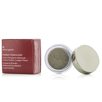 Clarins Cień do powiek Ombre Iridescente Cream To Powder Iridescent Eyeshadow - #06 Sliver Green  7g/0.2oz