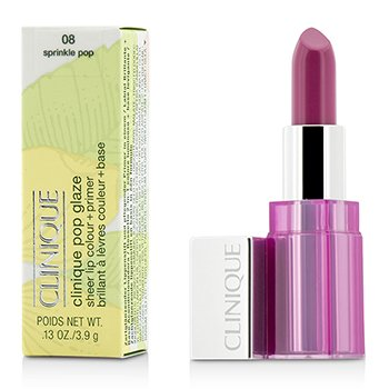 Pop Glaze Sheer Lip Colour + Primer   3.9g/0.13oz