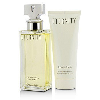 Eternity Coffret: Eau De Parfum Spray 100ml/3.4oz + Luxurious Body Lotion 100ml/3.4oz  2pcs