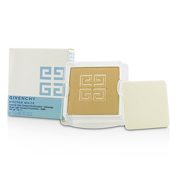 Givenchy Doctor White Sheer Light Base Compacta SPF 30 Repuesto - # 4 Honey Light  7.5g/0.26oz