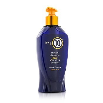 Miracle Shampoo Plus Keratin (Sulfate Free)  295.7ml/10oz