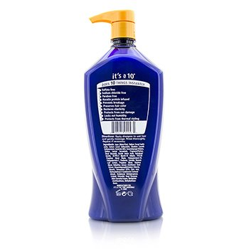 Miracle Shampoo Plus Keratin (Sulfate Free)  1000ml/33.8oz