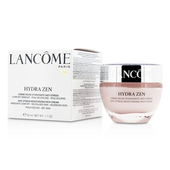 Lancome Hydra Zen Anti-Stress Moisturising Rich Cream - Dry skin, even sensitive - 50ml/1.7oz Lanyard Or Clip For 1.5 Oz Epi-Clenz Bottl