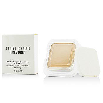 Bobbi Brown Extra Bright Powder Compact Foundation SPF 25 Refill - #1 Warm Ivory  13g/0.45oz