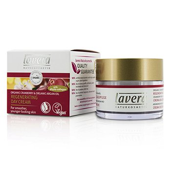 Lavera Organic Cranberry & Argan Oil Regenerating Day Cream  50ml/1.6oz