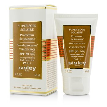 Super Soin Solaire Youth Protector For Face SPF 30 UVA PA+++  60ml/2oz