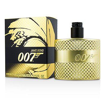 James Bond 007 Eau De Toilette Spray (Limited Edition Gold)  75ml/2.5oz