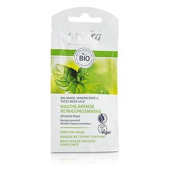 Lavera Mascarilla Purificante - Menta Orgánica  10ml/0.32oz