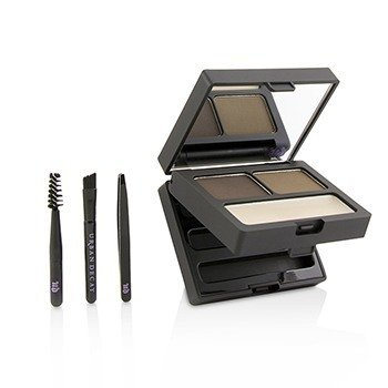 Brow Box: Eyebrow Powder + Wax + Tools  -