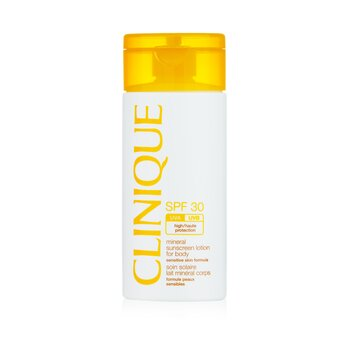 Clinique Mineral Sunscreen Lotion For Body SPF 30 - Sensitive Skin Formula  125ml/4oz