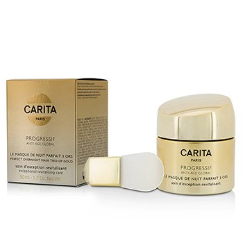 Carita Progressif Anti-Age Global Perfect Mascarilla Para la Noche Trío De Oro  50ml/1.7oz