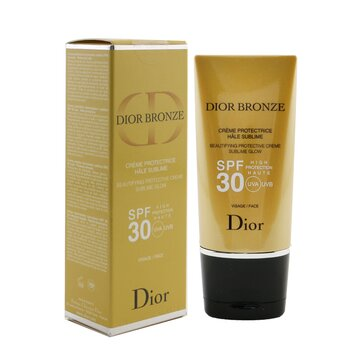 Dior Bronze Beautifying Protective Creme Sublime Glow SPF 30 For Face 50ml/1.7oz