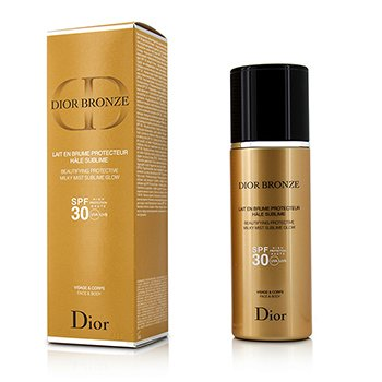 คริสเตียน ดิออร์ Dior Bronze Beautifying Protective Milky Mist Sublime Glow SPF 30 For Face & Body  125ml/4.2oz