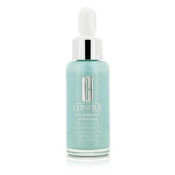 Clinique Anti-Blemish Solutions Blemish + Line Correcting Serum - Serum Wajah  30ml/1oz