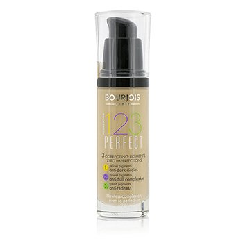 Bourjois 123 Perfect Foundation SPF 10 - No. 53 Light Beige  30ml/1oz