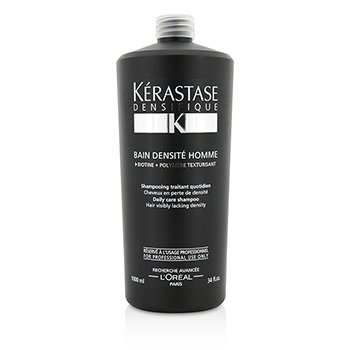 Kerastase Densifique Bain Densite Homme Daily Care Shampoo (Hair Visibly Lacking Density)  1000ml/34oz
