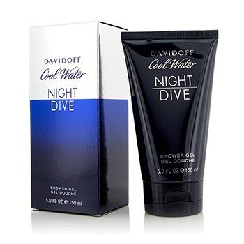 Davidoff Cool Water Night Dive Gel de Ducha  150ml/5oz
