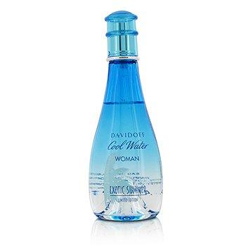 Cool Water Exotic Summer Eau De Toilette Spray (Limited Edition) 100ml/3.4oz