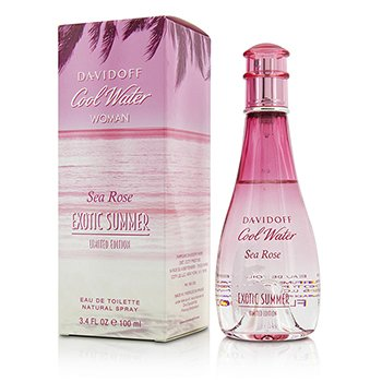 Davidoff Woda toaletowa Cool Water Sea Rose Exotic Summer Eau De Toilette Spray (Limited Edition)  100ml/3.4oz