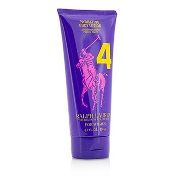 Big Pony Collection For Women #4 Purple Hydrating Body Lotion (Unboxed)  200ml/6.7oz