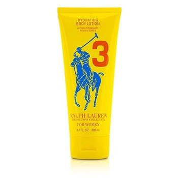 Big Pony Collection For Women #3 Yellow Hydrating Body Lotion (Unboxed)  200ml/6.7oz