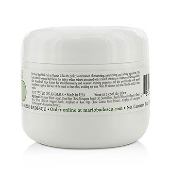 Rose Hips Mask - For Combination/ Dry/ Sensitive Skin Types  59ml/2oz