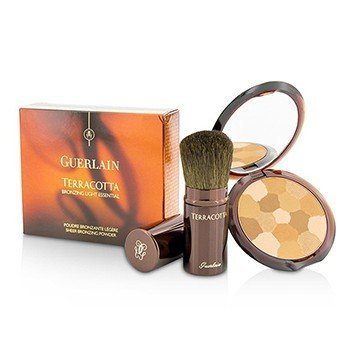 Guerlain Terracotta Bronzing Light Essential Set (1x Terracotta Light Sheer Bronzing Powder, 1x Applicator)  2pcs