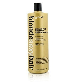 Szampon do włosów farbowanych Blonde Sexy Hair Sulfate-Free Bombshell Blonde Shampoo (Daily Color Preserving)  1000ml/33.8oz