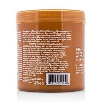 Bamboo Color Hold+ Color Protection Rehab Deep Hydration Masque (For Strong, Vibrant, Color Protected Hair)  500ml/16.9oz