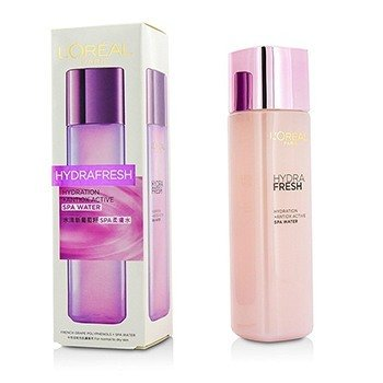 L'Oreal HydraFresh Hydration + Antiox Active SPA Water (For Normal to Dry Skin)  175ml/5.8oz