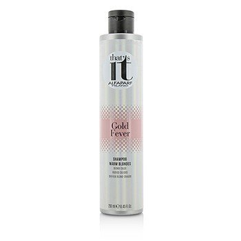 That's It Gold Fever Shampoo (For Warm Blondes)  250ml/8.45oz