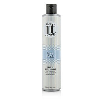 AlfaParf That's It Grey Pride Champú (Para Cabello Blanco & Gris)  250ml/8.45oz