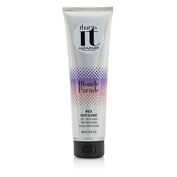 AlfaParf That's It Blonde Parade Mascarilla (Para Cada Rubio)  150ml/5.07oz