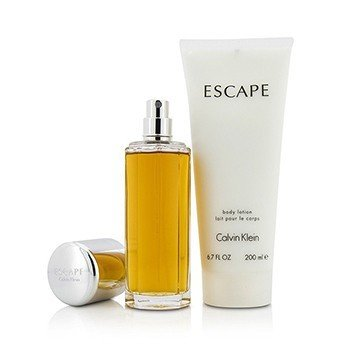 Escape Coffret: Eau De Parfum Spray 100ml/3.4oz + Body Lotion 200ml/6.7oz  2pcs