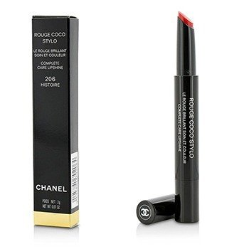 Chanel Rouge Coco Stylo Complete Care Lipshine - # 206 Histoire  2g/0.07oz