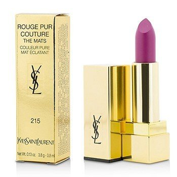Yves Saint Laurent Rouge Pur Couture The Mats - # 215 Lust For Pink  3.8g/0.13oz