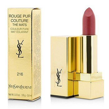 Yves Saint Laurent Rouge Pur Couture The Mats - # 216 Red Clash  3.8g/0.13oz