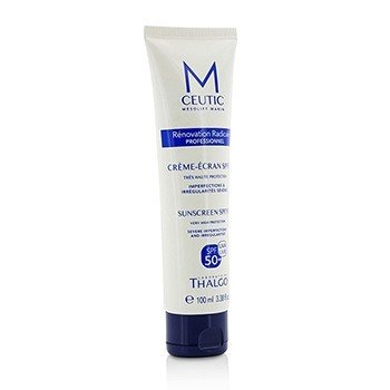 MCEUTIC Sunscreen SPF 50+ UVA/UVB Very High Protection - Salon Size  100ml/3.38oz