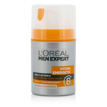 Krem do twarzy na dzień Men Expert Hydra Energetic Multi-Action 8 Anti-Fatigue Moisturizer  50ml/1.7oz