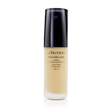 Shiseido Synchro Skin Lasting Liquid Foundation SPF 20 - Gloden 2  30ml/1oz